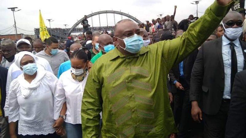 Marche de Lamuka : Grand retour de J.P Bemba dans la scène politique