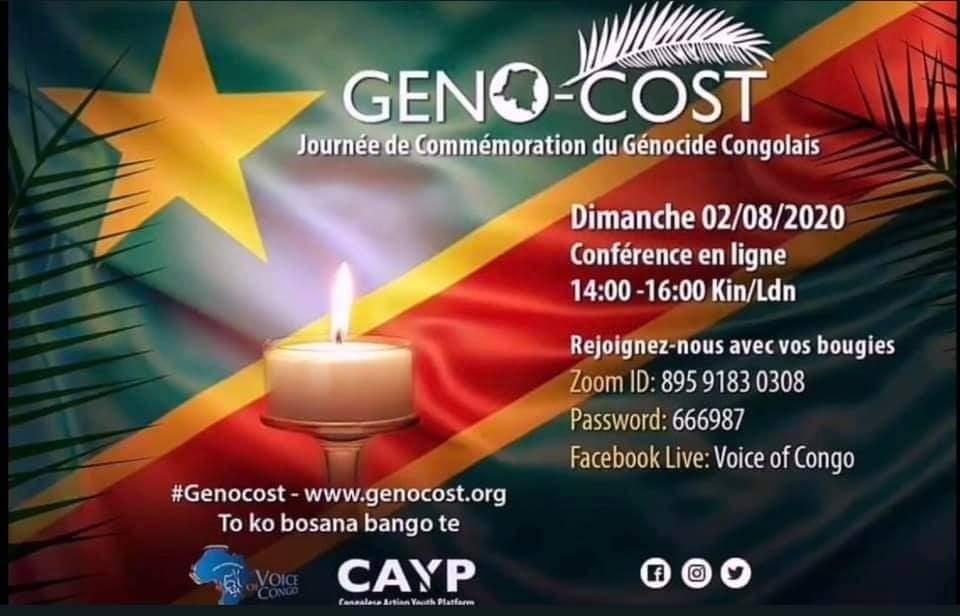 RDC : Journée de commémoration du génocide congolais