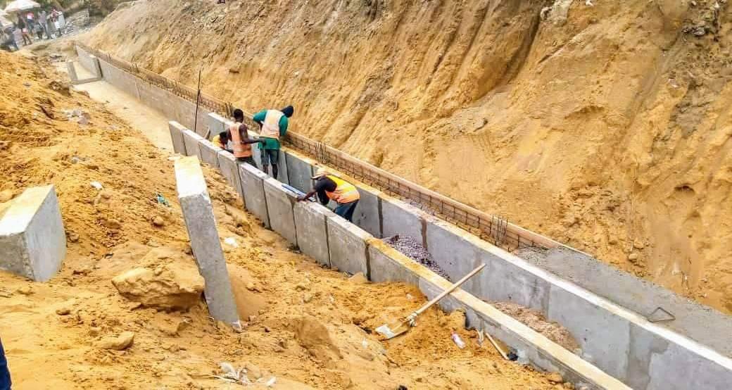 Kinshasa : Les travaux de construction de l'avenue Elengesa avancent à pas de géant