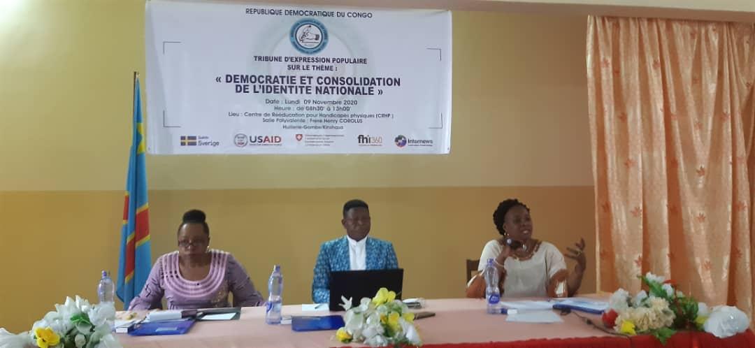Début de la Tribune d'expression Populaire dans la ville de Kinshasa
