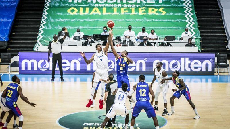BASKET-BALL : LA RDC S'EST IMPOSÉE FACE A LA RCA AU MATCH DES ÉLIMINATOIRES DE L'AFRO BASKET RWANDA 2021