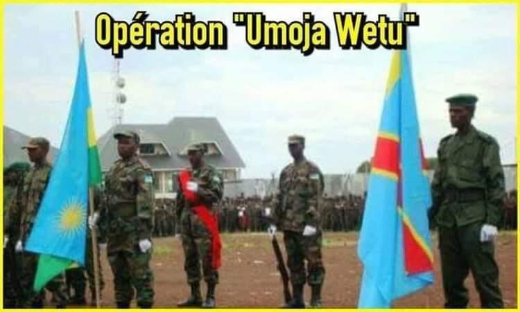 RDC – PAGE D'HISTOIRE  20 JANVIER 2009 : LANCEMENT OPÉRATION UMOJA WETU