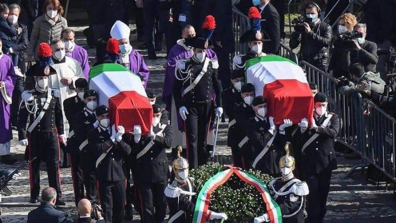 funérailles grandioses de Luca attanasio et de son garde du corps|Éditorial7.net