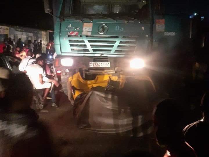Kinshasa :accident de circulation Editorial7.net