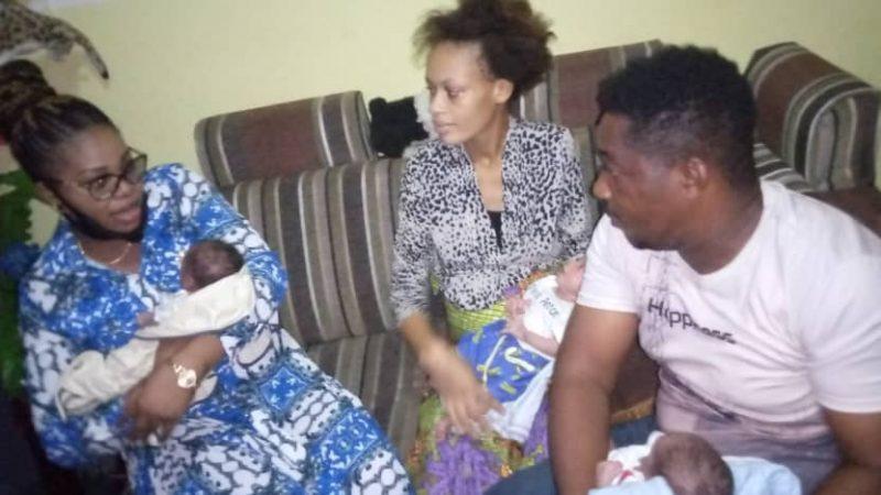 Kinshasa:Marthe tshisekedi à la rescousse d'une famille qui a accouché un triplé |Editorial7.net