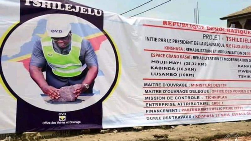 Rdc-Reconstruction : Tshilejelu,le nouveau projet lancé par le Président de la République, une réponse aux problèmes des embouteillages à Kinshasa