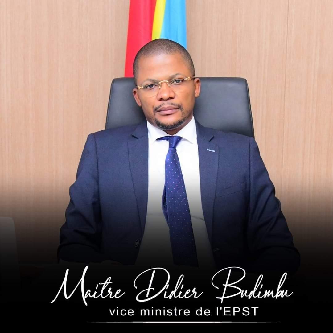 Rdc–éducation :DidierBudimbu, gardien de la gratuité de l'enseignement