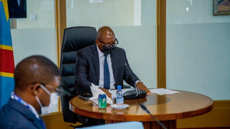 Rdc-Politique:gouvernement d'union  sacrée,Sama Lukonde a reçu la délégation du coc et mouvements sportifs