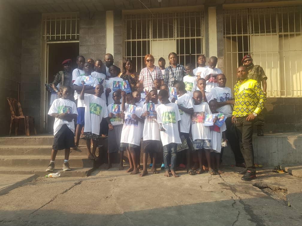 "Kinshasa:L'Orphelinat ""orper"" reçoit l'assistance de Marthe Tshisekedi Editorial7.net"