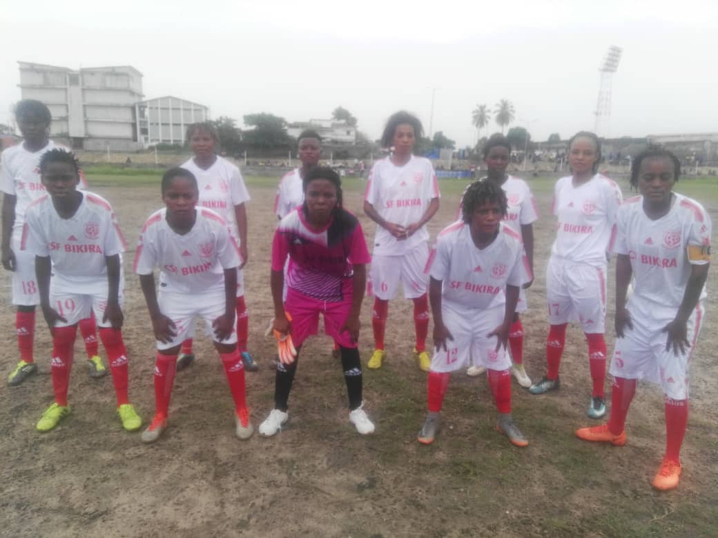 foot féminin-Cpff-Kin:bikira inflige la toute première défaite de la saison à amani