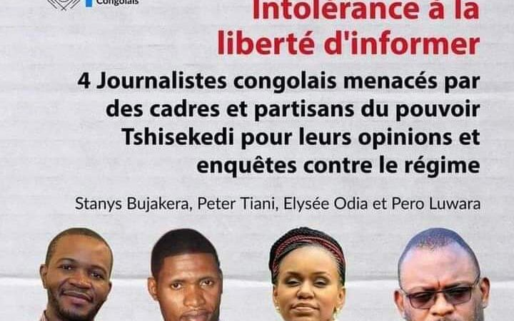 L'Udpssapéraitle quinquennat deFatshipar des attaques contre desjournalistes?