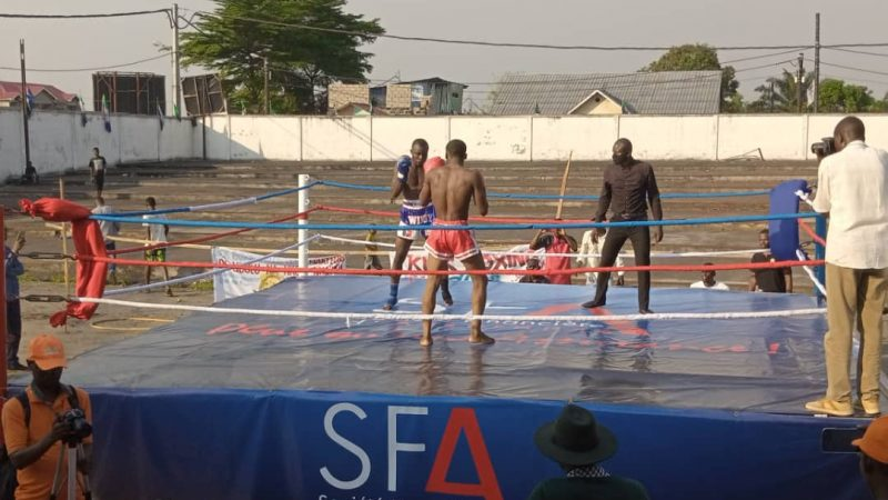 Kickboxing : Réussite de la première étape du challenge national kinshasa 2021
