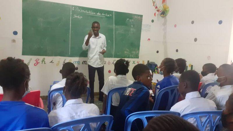 Rdc-Société: Trois mois après la sortie officielle du start-Up Twelve corporation, le dg Merdy KALONJI à l'œuvre pour la première phase de l'orientation scolaire