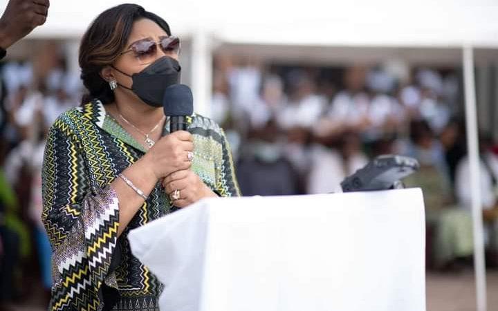 Taifa: Mke wa Raisi wa Drc ame towa heshima kwa wanawake wenye wali tenda mambo makuhu intchini Congo ya kidemokratia