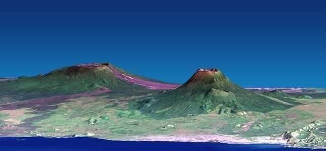 Histoire: Le mont Nyiragongo est un stratovolcan actif avec une altitude de 3470 m (11385 pieds) dans les montagnes des Virunga