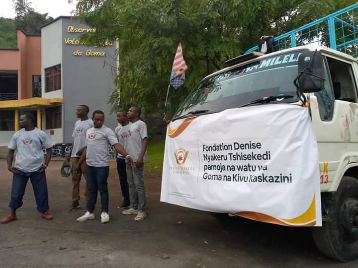 Goma-shirika: Fondation Denise Nyakeru Tshisekedi ya towa musahada kwa wa kahadji wa Goma