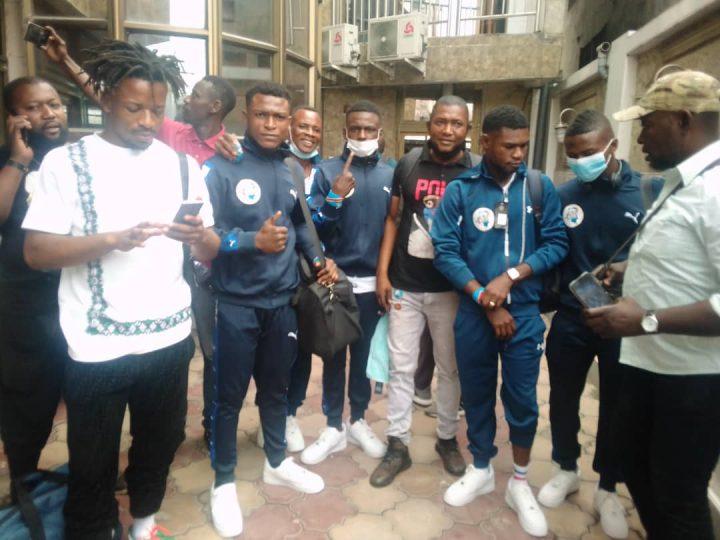 Lutt/Championnat du Monde des Juniors 2021:La délégation congolaise est Arrivée en Russie
