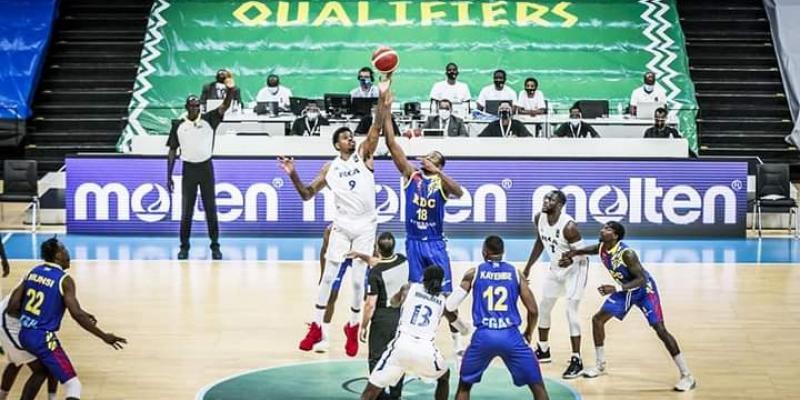 Afro basket Kigali 2021:la RDC est mis à genou par le Rwanda