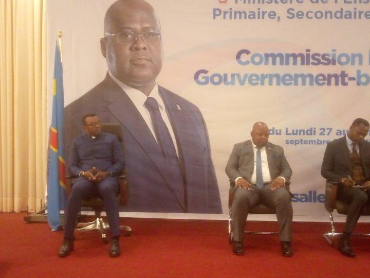 EPST : commission paritaire gouvernement – banc syndical, Tony Mwaba ouvre les assises ce lundi 27 Septembre.