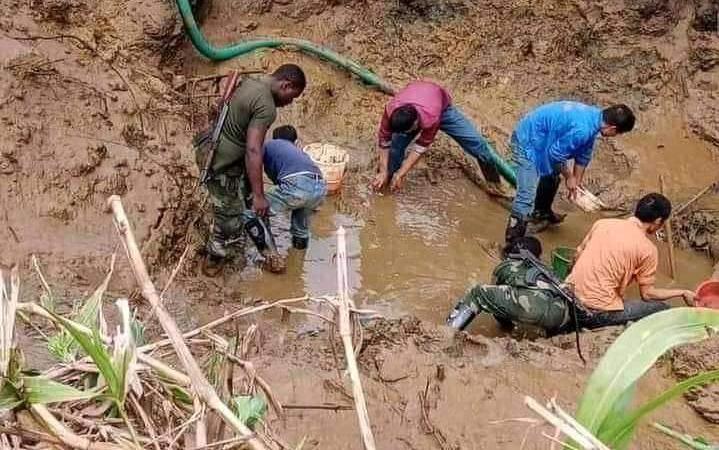 RDC:Aruwimipolluée, lesChinois pille l'or et exploite les mines sans permis les autochtones chassées des leurs terres
