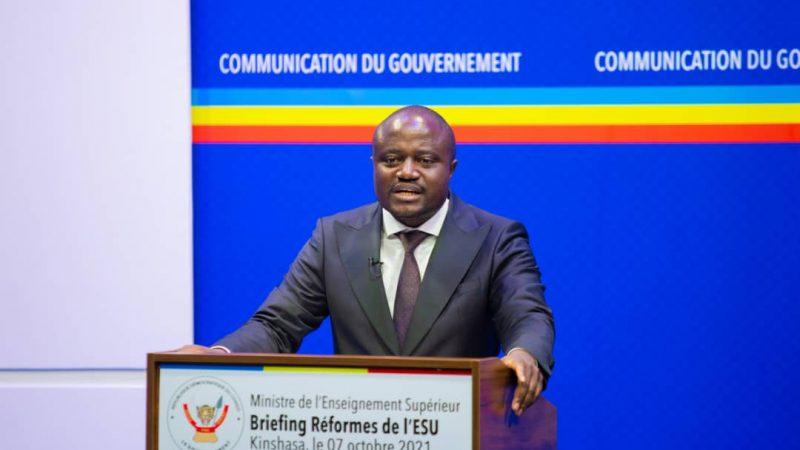 Esu: Muhindo nzangi accélère la réforme du système éducatif universitaire LMD