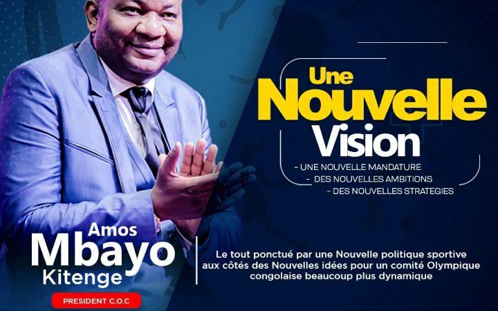 Sport : Amos Mbayo réélu président du comité olympique congolais pour la troisième fois consécutive